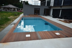 Zwembad - skimmer-grijs